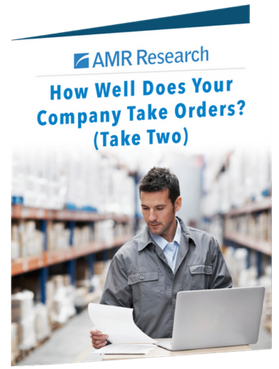 How Well Does your Company Take Orders?