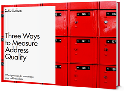 Three Ways to Measure Address Quality