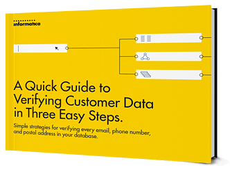 A Quick Guide to Verifying Customer Data in Three Easy Steps