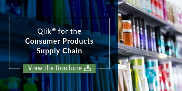 Brochure - Qlik - Consumer Products Supply Chain